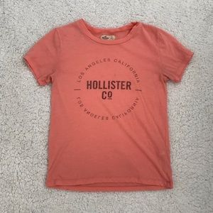 Tops - Coral Hollister top